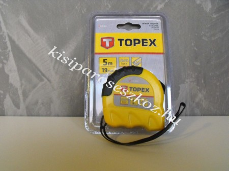 Mérőszalag Topex 5m