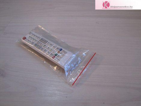 Simítózáras tasak 90x200mm (visszazárható tasak)