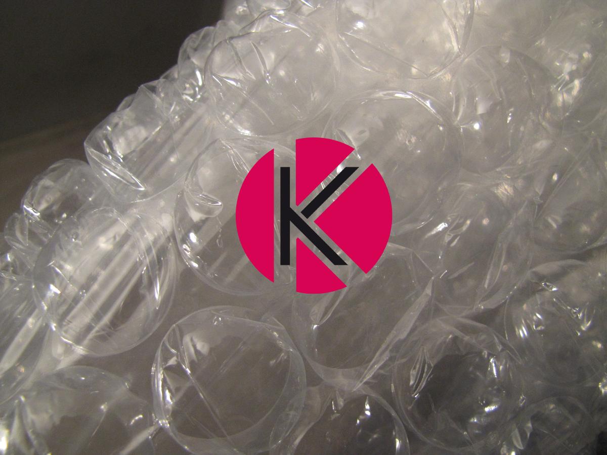 Buborékos csomagoló fólia