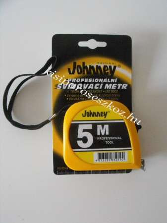 Mérőszalag Johnney 5m