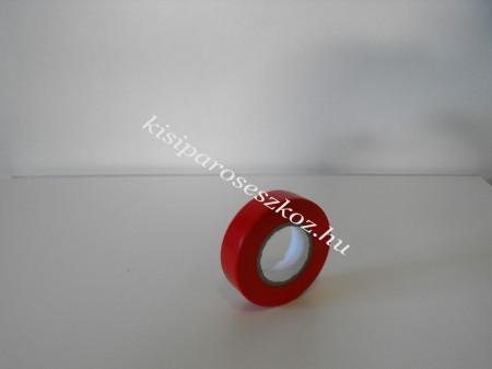 Szigetelőszalag piros 20m