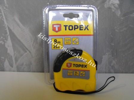 Mérőszalag Topex 8m