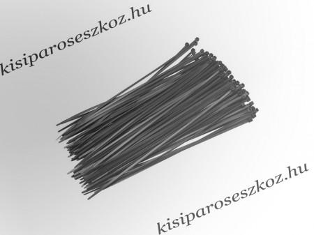 Gyorskötöző, fekete 10cm
