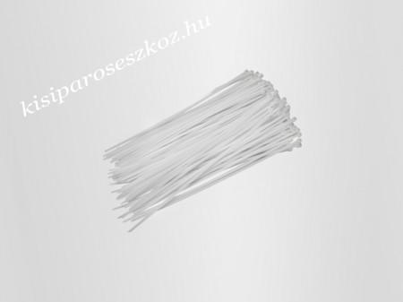 Gyorskötöző, fehér 10cm